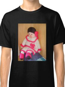 Doll with pink socks Classic T-Shirt