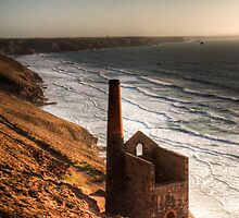 Wheal Coates by Simon Marsden