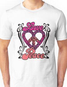 Love Peace Heart Unisex T-Shirt