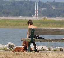A boy and his Dog by RichImage