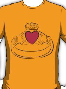 Claddagh Ring - A Token of Love T-Shirt