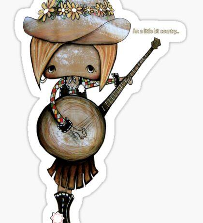 country girl Sticker