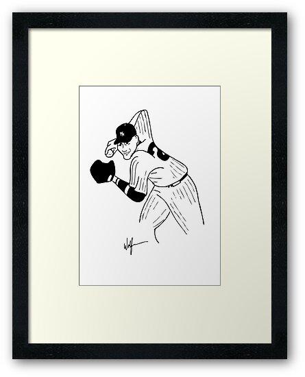 Derek Jeter by John Wolfe