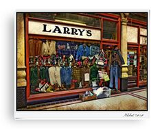 Larry's Canvas Print