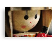 Korean Doll Canvas Print