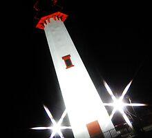 Starry Lighthouse by eddi33