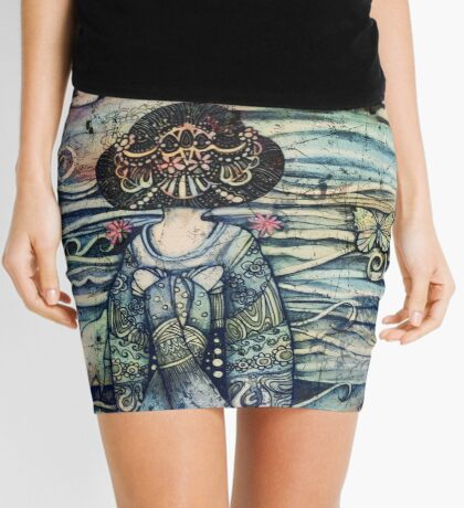 vintage geisha Mini Skirt
