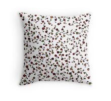 Roots Pattern: Autumn Throw Pillow