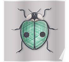 LadyBug - Green Emeraude Poster