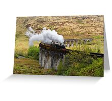 Glenfinnan Steam Greeting Card