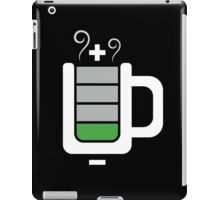 Cup battery charging iPad Case/Skin