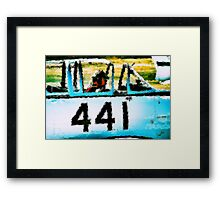 Waiting For Clearance Framed Print