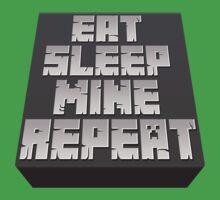 Minecraft - Eat, Sleep, Mine, Repeat T-Shirt