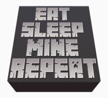 Minecraft - Eat, Sleep, Mine, Repeat Kids Clothes