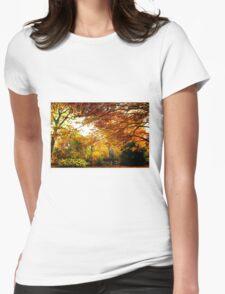 Autumn Sunbeam  Womens Fitted T-Shirt