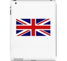 Union Jack, British Flag, UK, United Kingdom, Pure & simple 1:2 iPad Case/Skin