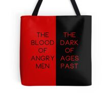 Red & Black #1 Tote Bag
