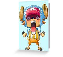 Panic Chopper, One piece Greeting Card