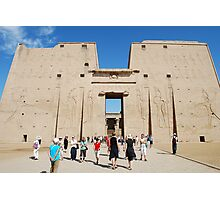 Temple of Edfu Photographic Print