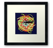 Eye of Love (2010) Framed Print