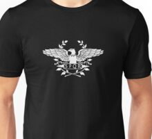 S.P.Q.R. white eagle Unisex T-Shirt