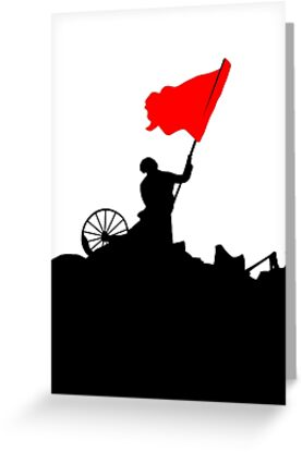 Flag of Revolution by BethXP