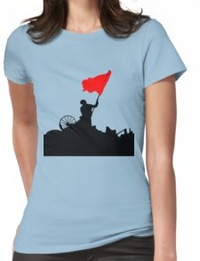 Flag of Revolution Womens Fitted T-Shirt