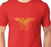 Senatus Populusque Romanus The Senate and People of Rome Unisex T-Shirt