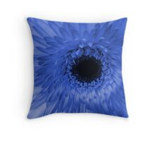 Unlikely Blue #1 Throw Pillow