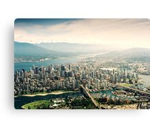 Vancouver (Aerial View) Canvas Print