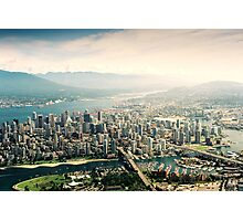Vancouver (Aerial View) Photographic Print