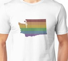 Washington Rainbow Gay Pride Unisex T-Shirt