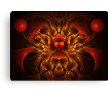 Flaming Passion Canvas Print