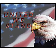 United We Stand Photographic Print