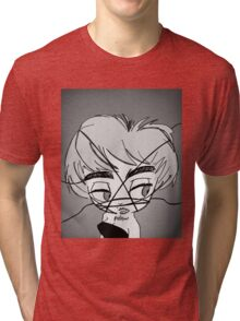 Who's That Rebel? Tri-blend T-Shirt