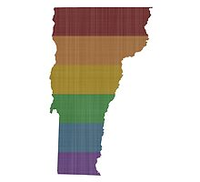 Vermont Rainbow Gay Pride by surgedesigns