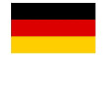 GERMAN, GERMANY, German Flag, Federal Republic of Germany, Bundesrepublik Deutschland by TOM HILL - Designer