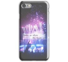 """""""home is where the heart is"""" iPhone Case/Skin"""