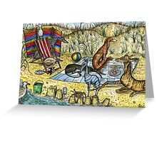 THE DECKCHAIR  Greeting Card