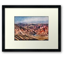 Neveda - Grand Hills Framed Print