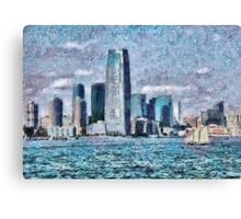 NY - City of the future Canvas Print