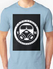 Gasmask Logo in Black T-Shirt