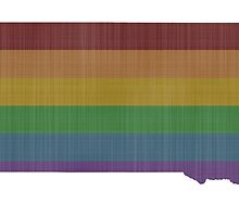South Dakota Rainbow Gay Pride by surgedesigns