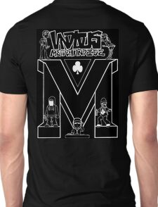 Vandalous Collage in Black Unisex T-Shirt