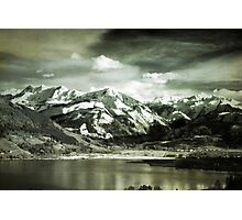 Looking Over Zeller See Photographic Print