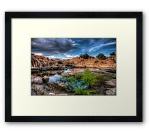Spring Cove Framed Print
