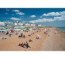 Brighton Beach: Sussex UK Photographic Print