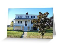 Lighthouse Keeper House Greeting Card