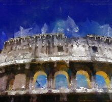 Rome 1 by Pierre Blanchard by esotericaart