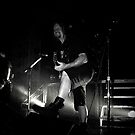 Dave Linsk (Overkill's lead guitarist) 4/9/2010 in Chicago by jammingene
